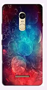 AURRA 3D Designer Printed Mobile Back Cover For Xiaomi Redmi Note 3