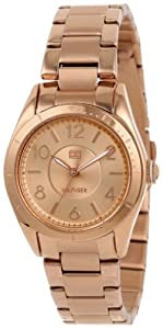 Buy Tommy Hilfiger Ladies 1781279 Casual Sport Rose-Gold 3-Hand Watch by Tommy Hilfiger