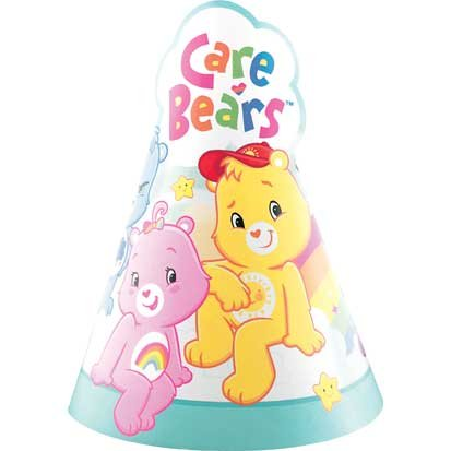 Care Bears Party Hats 8ct