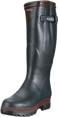 Aigle PARCOURS ISO BRONZE/NOYER 8501,Unisex - Erwachsene Gummistiefel, Grün (bronze/noyer), EU 36