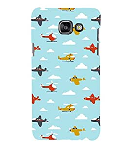 EPICCASE Planes and Choppers Mobile Back Case Cover For Samsung Galaxy A3 (2016) (Designer Case)