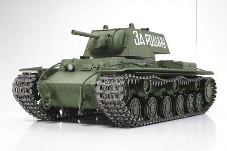 Tamiya 1/16 RC Tank Russian Heavy Tank KV-1 Model Kit