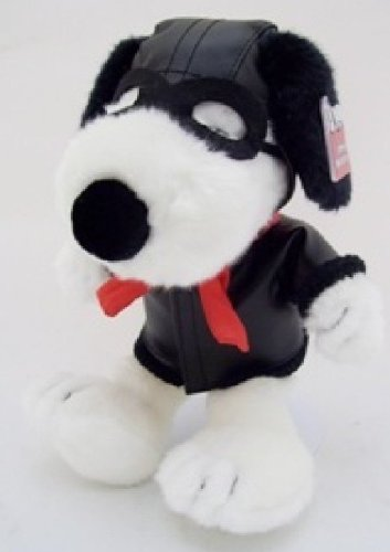 "13"" Red Barron Flying Ace Pilot Of The Sky Snoopy Plush Doll front-1022585"