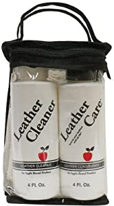 Apple Brand Leather Care Kit Cleaner & Conditioner from Excelda