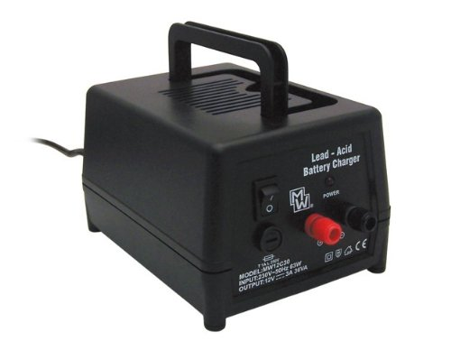 CHARGEUR BATTERIE PLOMB 12 V 3A