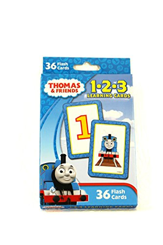 Thomas & Friends 1-2-3 Learning Cards
