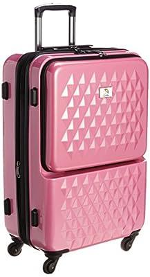 [アーノルドパーマー] ARNOLD PALMER スーツケース フロントオープンキャリーケース最大72L 33021 PKC (ピンクカーボン)