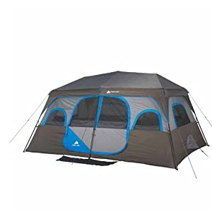 Buy Ozark Trail 14' x 10' Instant Cabin Tent Sleeps 10 People Outdoor Camping by Ozark Trail
