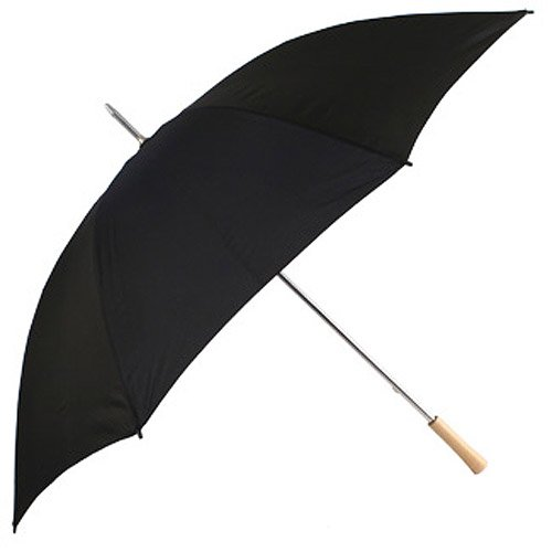 Chauffeur Large Golf Wedding Umbrella in Black