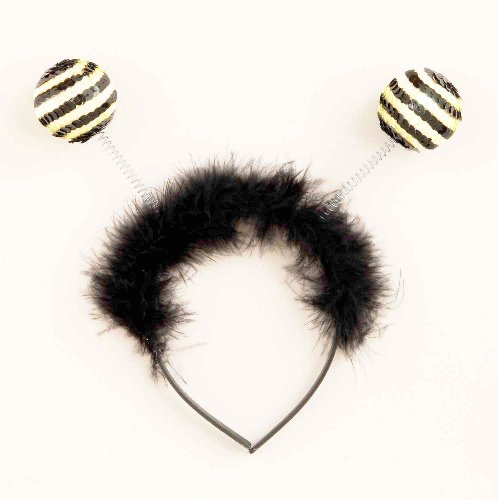 Forum Novelties Sequin Bumble Bee Antenna Costume Headband