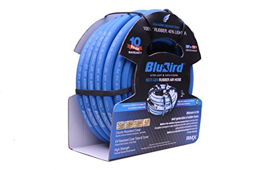 BluBird: The Lightest and Strongest Rubber Air Hose 3/8