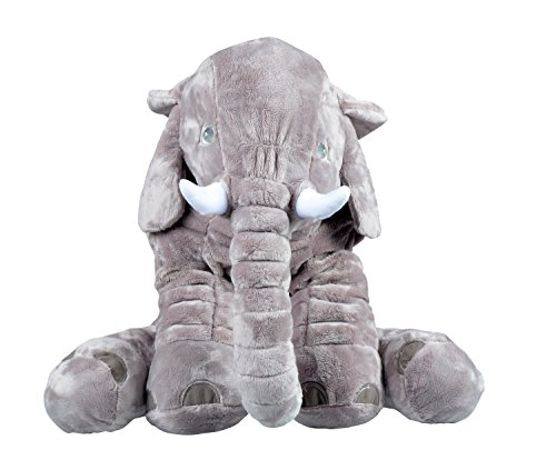 USATDD Elephant Stuffed Plush Pillow Animal Doll Great Toy Baby Gift Giant 23.5""