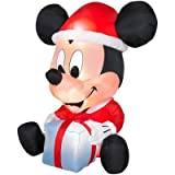 6ft Egg Noggin Disney Mickey Mouse Inflatable Holiday Yard Decoration