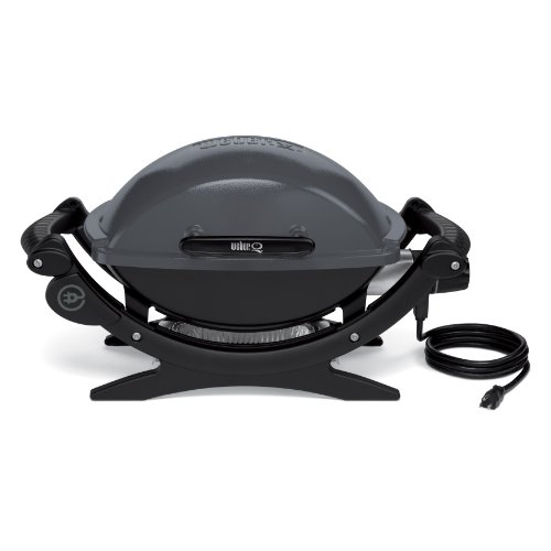 Portable Weber Q-140 Electric Grill Easily Travels Anywhere