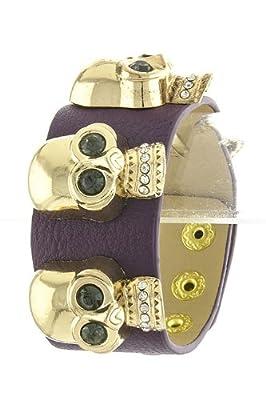Tiffany & Zara Skull Wrap Bracelet from Karmas Canvas