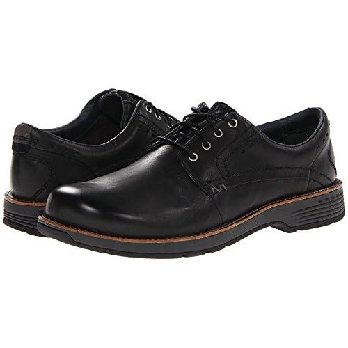 (メレル) Merrell 靴・シューズ メンズオックスフォード Merrell Realm Lace Black ブラック 9 (27cm) M