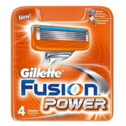 Gillette Fusion Razor Blades 4ーCount