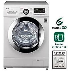 LG - Lavadora secadora F1496ADP3 de 8 Kg y 1.400 rpm