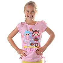 Lalaloopsy Best Friends Girls Pink Glitter T-Shirt (6)