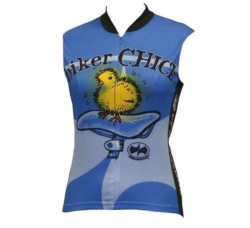 Buy Low Price World Jerseys Women's Biker Chick Sleeveless Cycling Jersey (Biker Chick SL)