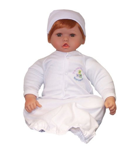 "20"" Me And Molly P. Left Handed, Thumbsucking, Nursery Baby Doll-Light Honey(Reddish) Hair/Hazel Eyes"