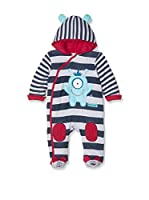 Pitter Patter Baby Gifts Pelele (Azul Marino / Gris)