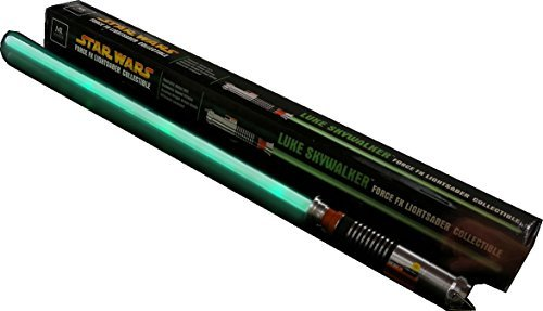 Star Wars MASTER REPLICAS Return of the Jedi Episode VI Green LUKE SKYWALKER JEDI KNIGHT FORCE FX LIGHTSABER Rare