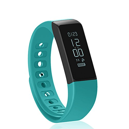 Fitness Tracker Pedometer Vcall I5 PLUS Waterproof Bluetooth Activity Tracker Sports Bracelet Smart Band Wristband Fitness Watch with Touch Screen Health Sleep Monitor for iPhone Android Phones