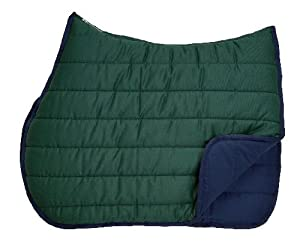 Roma 652220 Roma Reversible Soft Wither Relief Pad / Color (Hunter Green / Navy)