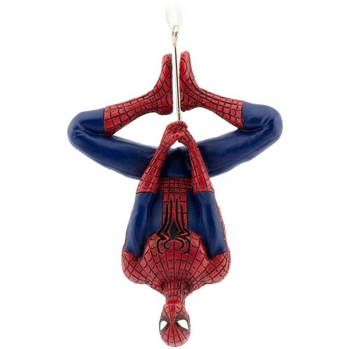 Hallmark Marvel Upside-Down Spider-Man Christmas Ornament
