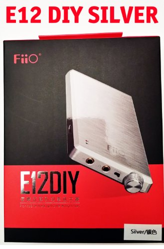 Fiio E12 Diy Headphone Amplifier [Silver Limited Edition] W/ 7 High Fidelity, Ultra-Low Distortion Op-Amps And Buffers