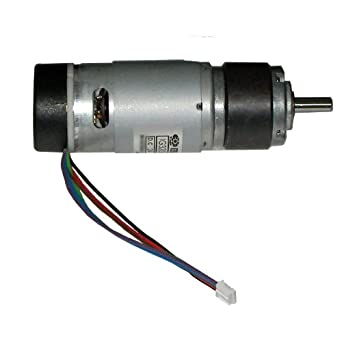 Ig32p 24vdc 265 rpm gear motor with encoder permanent for 7 rpm gear motor