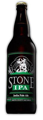 カリフォルニア産地ビール STONE IPA (ストーン クラフトビール) 22oz/650ml [並行輸入品]
