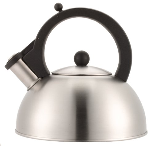Copco Strata Satin Finish Stainless Steel Whistling Teakettle