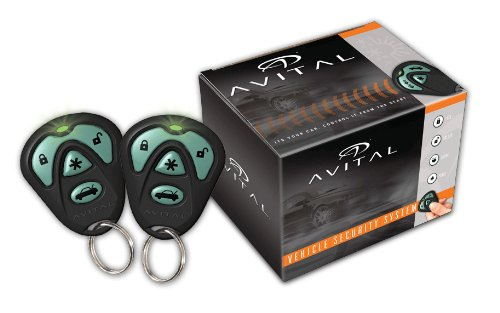 Avital 4103LXL Remote Start System with Two 4-Button Remote