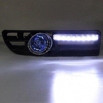 Man Friday 2x antibrouillard 4LED pour VW Golf Jetta Bora Mk4 99-04 Grille Bleu Harnais