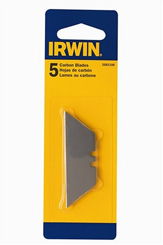 Irwin 2083100 Carbon Standard Utility Blade, 5-Pack