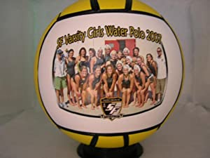 BRIGHAM YOUNG UNIVERSITY Fans - Cougars Water Polo Ball - Create YOUR personal fan... by Djams