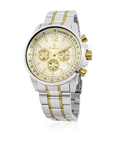 Burgmeister Reloj de cuarzo 608-977 Plateado / Dorado 46 mm
