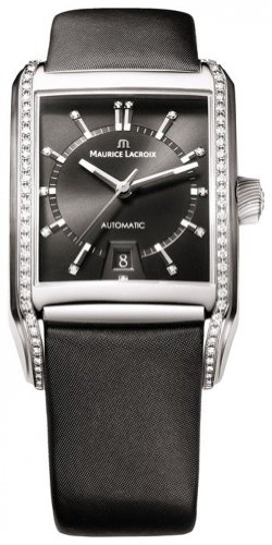 Maurice Lacroix - Unisex Watches - M. Lacroix Pontos Rectangualire Diamonds - Ref. PT6247-SD501-350