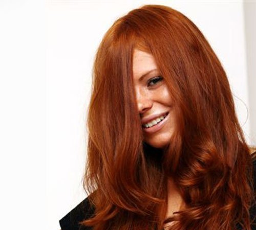 Milani Hair Clip In Extensions Color #30 Light Auburn/Ginger Copper