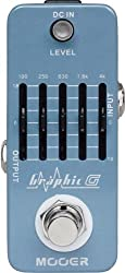 MOOER Moore over effector guitar for graphic equalizer pedal Graphic G (japan import) by MOOER