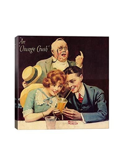 Norman Rockwell An Orange Crush Giclée Print