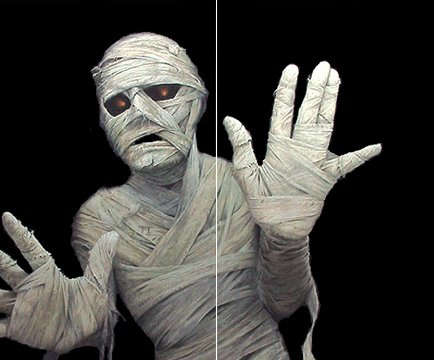 Menacing Mummy Translucent Window Decorations