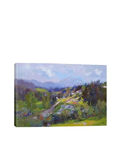 Yuri Pysar Blue Mountains Gallery-Wrapped Canvas Print