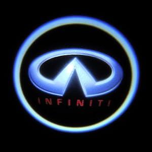 amazoncom 3w 4th generation car logo led ghost shadow
