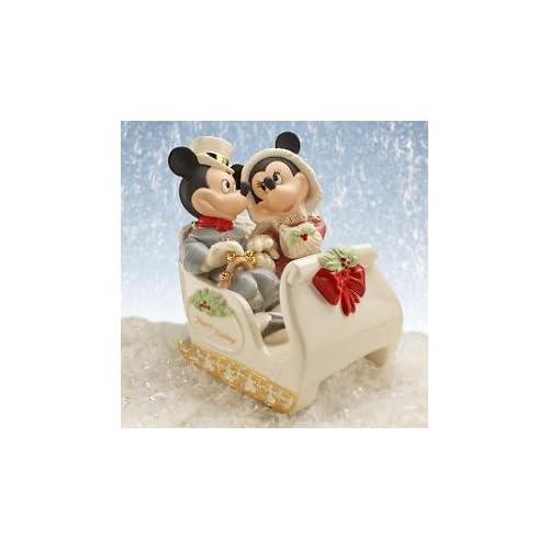Lenox Disney Mickey & Minnie Winter Wonderland Figurine