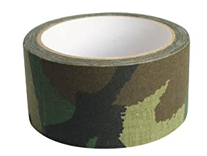 Web-tex High Strength Fabric Camo Tape - 10m