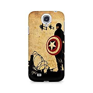 Ebby The First Avenger Premium Printed Case For Samsung S4