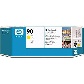 HP Printhead Yellow + Cleaner ( No. 90 ), 383HPC5057A (( No. 90 ))